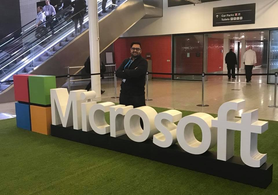My first experience at Microsoft's Future Decoded